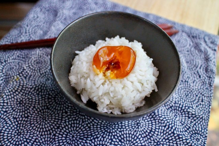 Soy Marinated Egg Yolk